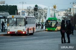 Общественный транспорт Екатеринбурга, остановка, автобус, общественный транспорт