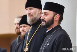 Шествие посвященное столетию геноцида армян. Екатеринбург, священник, армянская церковь