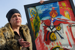 Магистр вуду Антон Симаков презентует свою картину