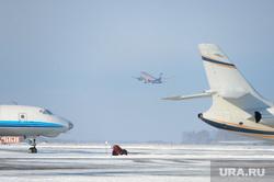 Аэропорт. Самолет. Челябинск., самолет, боинг, взлет