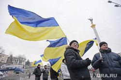 Евромайдан. Киев (Украина), флаг украины, площадь независимости