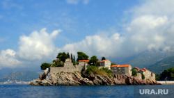 Черногория, замок, остров, черногория