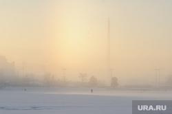Клипарт, разное. Екатеринбург, холод, зима, мороз, городской пруд