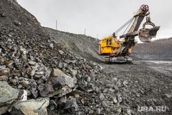 Качканар. Подрыв горной породы на Северном карьере. КГОК, экскаватор, добыча руды, карьер, качканарский, горнообогатительный