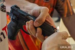 Практическая стрельба из пистолета. Екатеринбург, пистолет, прицел