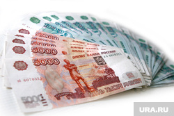 Клипарт , купюры, пять тысяч, рубли, деньги