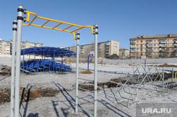 Дубровский в Сатке. Челябинск., турник, спортплощадка