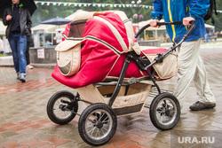 Клипарт, разное, коляска детская, рождаемость, демография