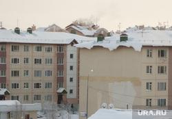 Снег на крышах