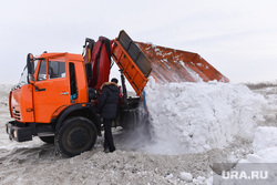 Вывоз снега. Челябинск., снегоуборочная техника