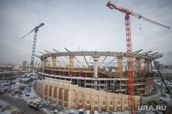 Реконструкция Центрального стадиона. Екатеринбург, вид с высоты, реконструкция центрального стадиона