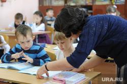 Поселок Роза. Челябинск., учитель, ученики, школа4