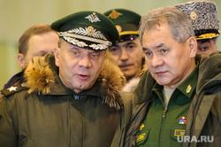 Визит министра обороны РФ Сергея Шойгу в Екатеринбург, шойгу сергей, борисов юрий