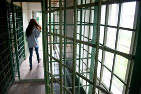 Музей тюрьмы.  Пермь-36, зона, колония, тюрьма, решетка, музей