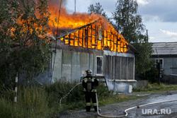 Пожар в Лабытнанги, пожар, огонь