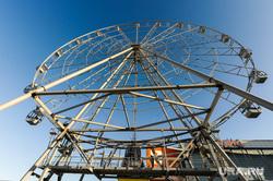 Новое колесо обозрения в Челябинске около КРК Мегаполис. Челябинск, колесо обозрения