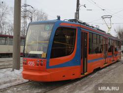 Трамвайный парк. ЧелябГЭТ. Челябинск., трамвай, уквз