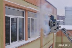 Учения МЧС с главами. Пожар в школе. Челябинск., учения мчс, пожар в школе