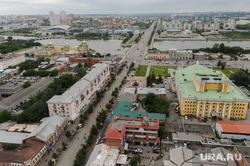 Виды Челябинска, улица кировка, оперный театр