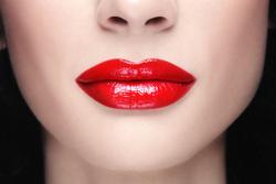 Клипарт, косметика, макияж, красота, визаж, красные губы, алая помада