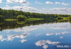 Путевые фото. Нижний Тагил -Восточный - Верхотурье - Гари, пейзаж, лес, отражение, природа, облака, река лозьва