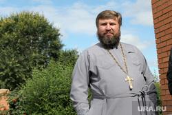 Открытие церковной школы Курган, отец владимир