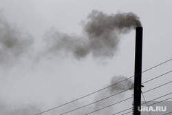 Газ в Путейском городке Курган, дым, труба
