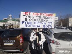 Пикет против застройки Попова Лога, пикет, попов лог