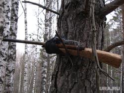 Клипарт. Охота. Челябинск., лес, ружье, обрез