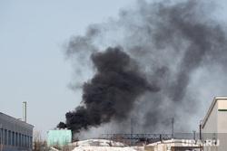 Открытие базы ОМОН. Сургут, дым, пожар, возгорание