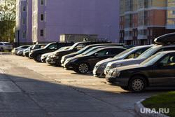 Открытая парковка НСД. Нижневартовск., парковка, машины, стоянка автомобилей