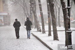 Снегопад. Екатеринбург, снегопад, зима