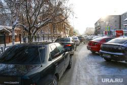 Пробки на перекрестке улиц Карла Маркса - Володарского. Курган., пробка на перекрестке, улица володарского