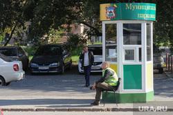 Платная парковка по ул Васенко Челябинск, парковка, будка