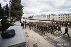 Репетиция парада Победы в 32-ом военном городке. Екатеринбург, военные, парад, репетиция, смотр войск, ходить строем