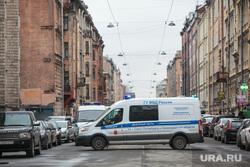 Теракт в Санкт-Петербурге (перезалил). Санкт-Петербург, перекрытие дороги, машина мвд