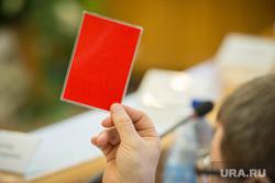 Двадцать восьмое заседание гордумы Екатеринбурга, мандат, красная карточка, голосование депутатов