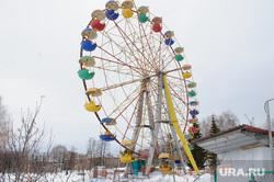 Виды Нижнего Тагила, аттракционы, чертово колесо, нижний тагил, колесо обозрения, пкио им бондина