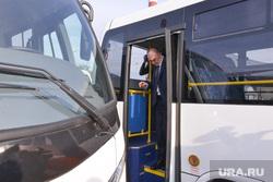Дубровский на Челябавтотрансе. Автобусы. Челябинск., автобус, дубровский борис