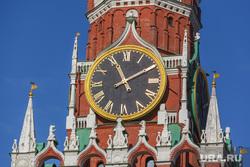 Клипарт, часы на башне, кремль, город москва