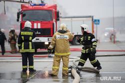 Пожарные учения в Сима-ленде. Екатеринбург, пожарные