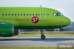 Споттинг: аэропорт. Клипарт. Екатеринбург, самолет, S7, с7