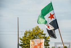 Клипарт, оппозиция, флаг сирии