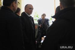 Рабочий визит губернатора Челябинской области Бориса Дубровского в Касли. Касли, работники лаборатории очистных сооружений