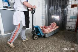 Проверка санкционных продуктов на Шарташском рынке. Екатеринбург, тележка, магазин, мясо