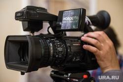 Пресс-конференция Евгения Куйвашева по итогам ИННОПРОМ-2015. Екатеринбург, пресса, оператор, сми, видеокамера, новости, телевидение
