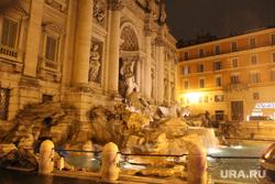 Клипарт. Италия. Рим , фонтан де треви, рим