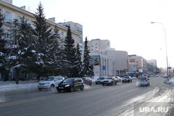 Зимний Курган., зима, улица гоголя