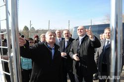Борис Дубровский посетил озерский городской округ.  Озерск, павлов владимир, похлебаев михаил, дубровский борис