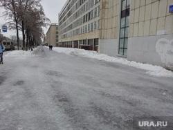 Челябинск, ледяной дождь, остановились троллейбусы, гололед